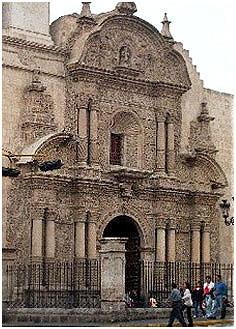 Iglesia de La Compañía, Arequipa. Siglo XVII